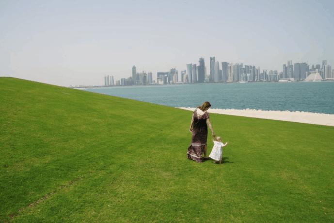Wandermust Family in Qatar