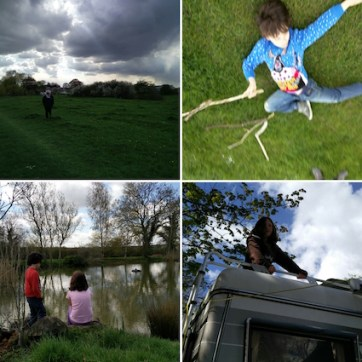 Images of Dumsey Meadow and Chertsey Camping