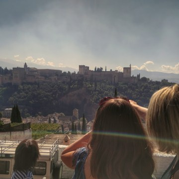 Seeing the Alhambra from the Albacin