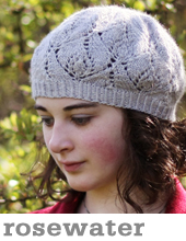 Rosewater Beret by Tin Can Knits