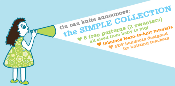 Tin Can Knits Simple Collection