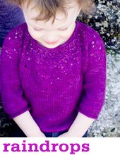 Raindrops by Tin Can Knits