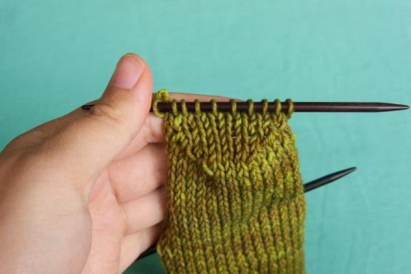 Turning Knitting Needles