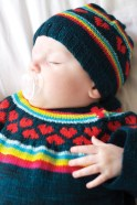I Heart Rainbows Hat by Tin Can Knits