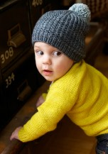 Bumble Beanie and Playdate Cardigan