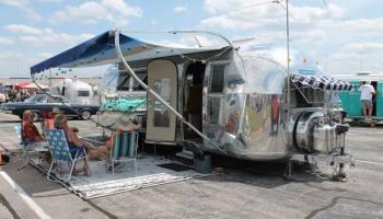 Vintage Campers at Atlanta MotoRama - Tin Can Tourists