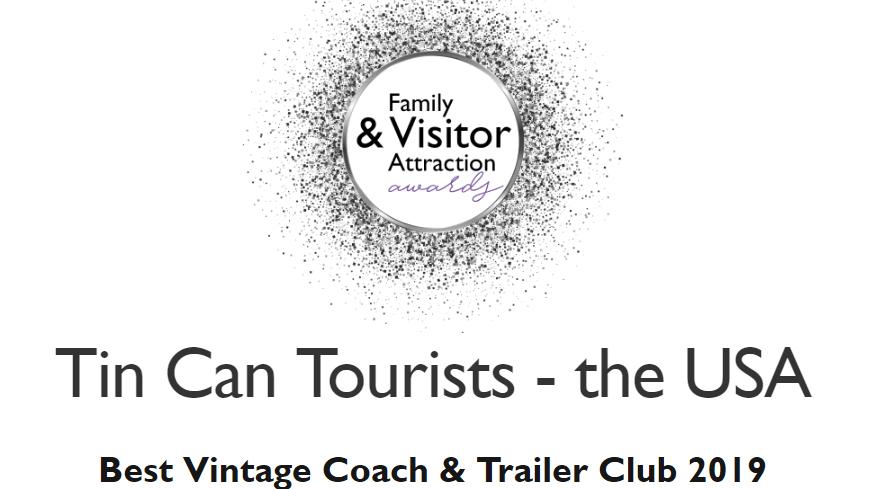 TCT wins the 2019 Best Vintage Coach Trailer Club award