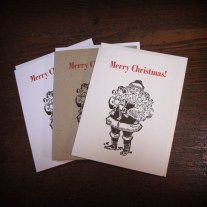 Merry Christmas Cards - Santa Claus