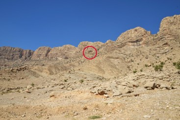 Location of the Mudan-e Shapur cave, in the valley of Tang-e Chogân