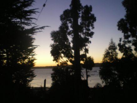 Coucher de soleil à l'île Maillen