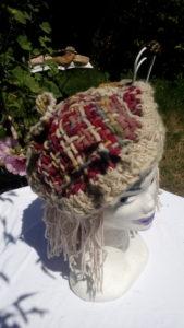 Bonnet, teinturelle, cochenille, indigo,