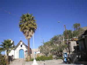Vue de l'église de Parca