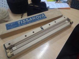 Je viens juste de déballer mon nouveau métier Tissanova