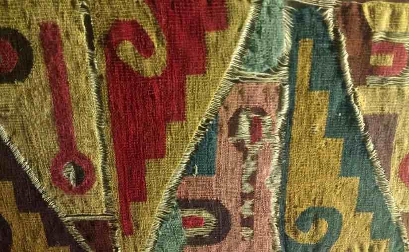 Textiles anciens exposés au Musée Amano - Lima - Pérou