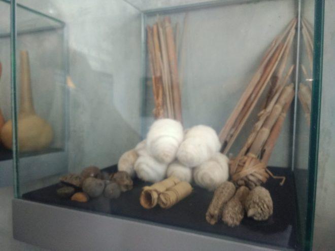 Coton, fuseaux, toiles, Musée de Madgalena de Cao