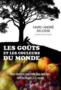 Livre de Marc-André Selosse sur les tanins, livre évènement