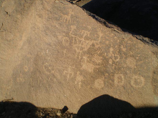 Pétroglyphe à Mamiña, 120 km d'Iquique
