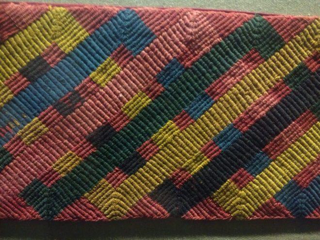 Textile précolombien - Museo Amano - Lima - Pérou