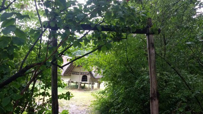 Le première petite maison du Village Lacustre
