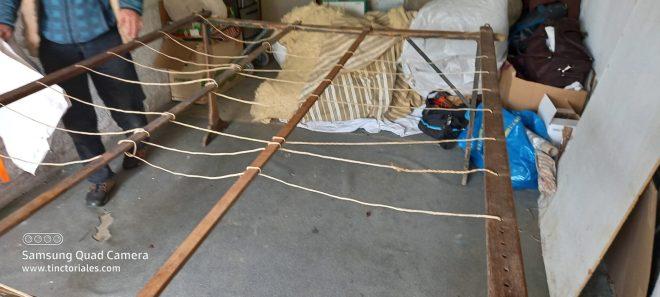 Table pour refaire un matelas de laine