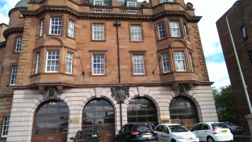 The Museum of Fire will be leaving this lovely Fire Station at Lauriston Place, Edinburgh.