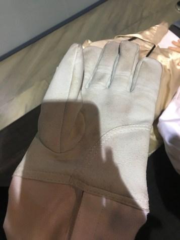 Andrew Scott's fencing glove