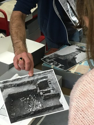 Early photographs of the 1971 excavation