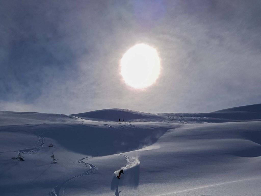 Topptur og Ski touring Voss