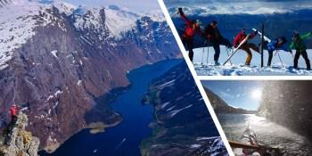 Med ski og kajakk gjennom Verdsarvuta - Nærøyfjorden (2 dager)