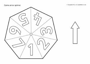 6-Sided Spinner