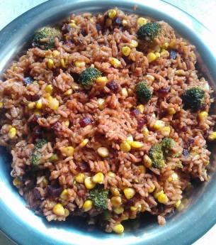 Broccoli Masala Rice