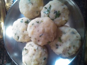 Almond tikki chat