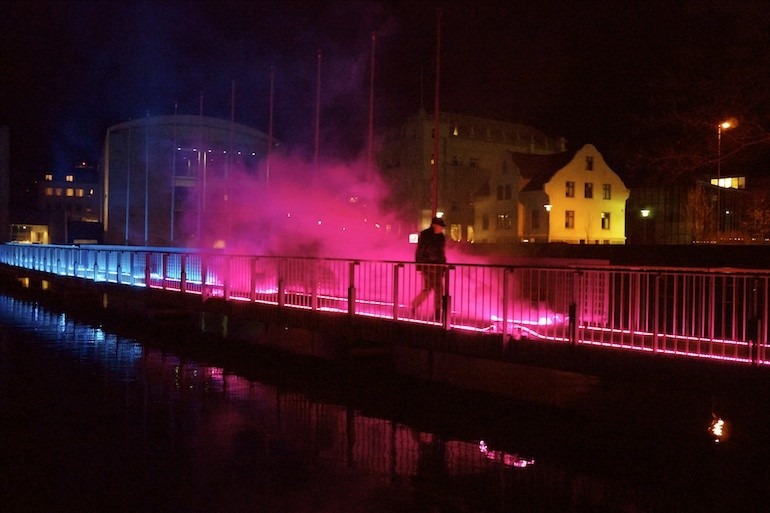 New Lightwork Commission At Reykjavik Winter Festival