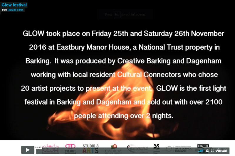 Highlights From GLOW Creative Barking And Dagenham