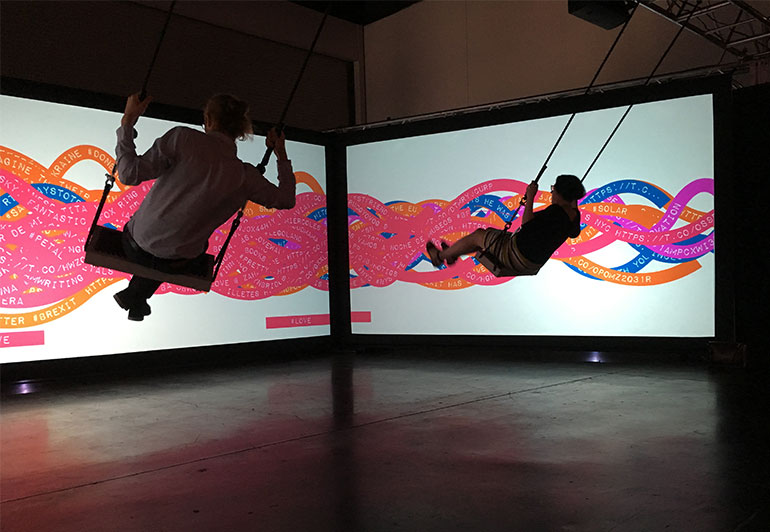 New Interactive Work With Swings