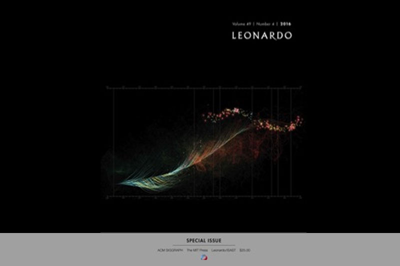 Kinetic Storyteller In The Leonardo Journal
