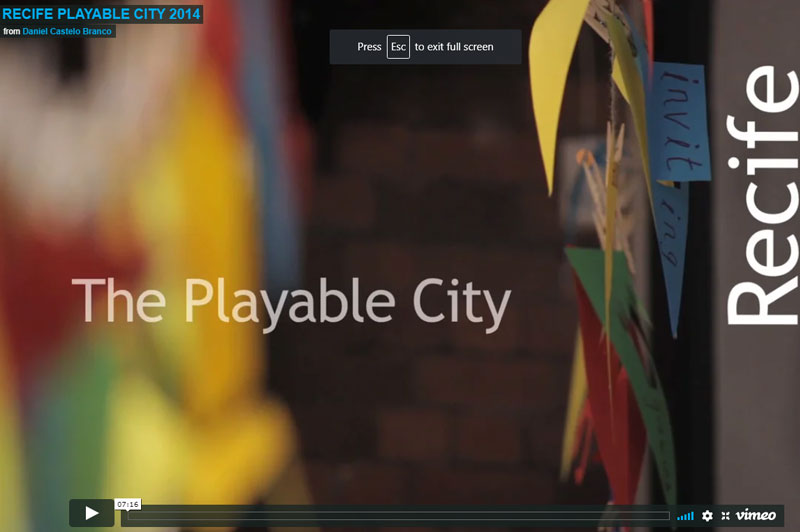 Video Of The Playable City Brazil