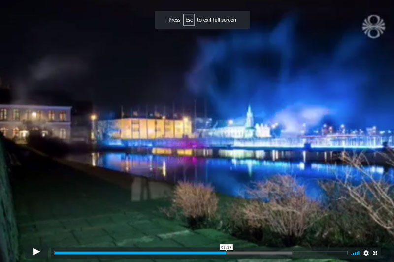 Reykjavik Winter Festival In Spotlight News