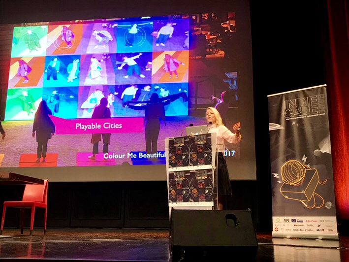 Tine Is Giving A Keynote At IndieCade Europa Conference In Paris
