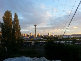 View of downtown from atop Queen Anne