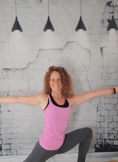 Yoga workout training