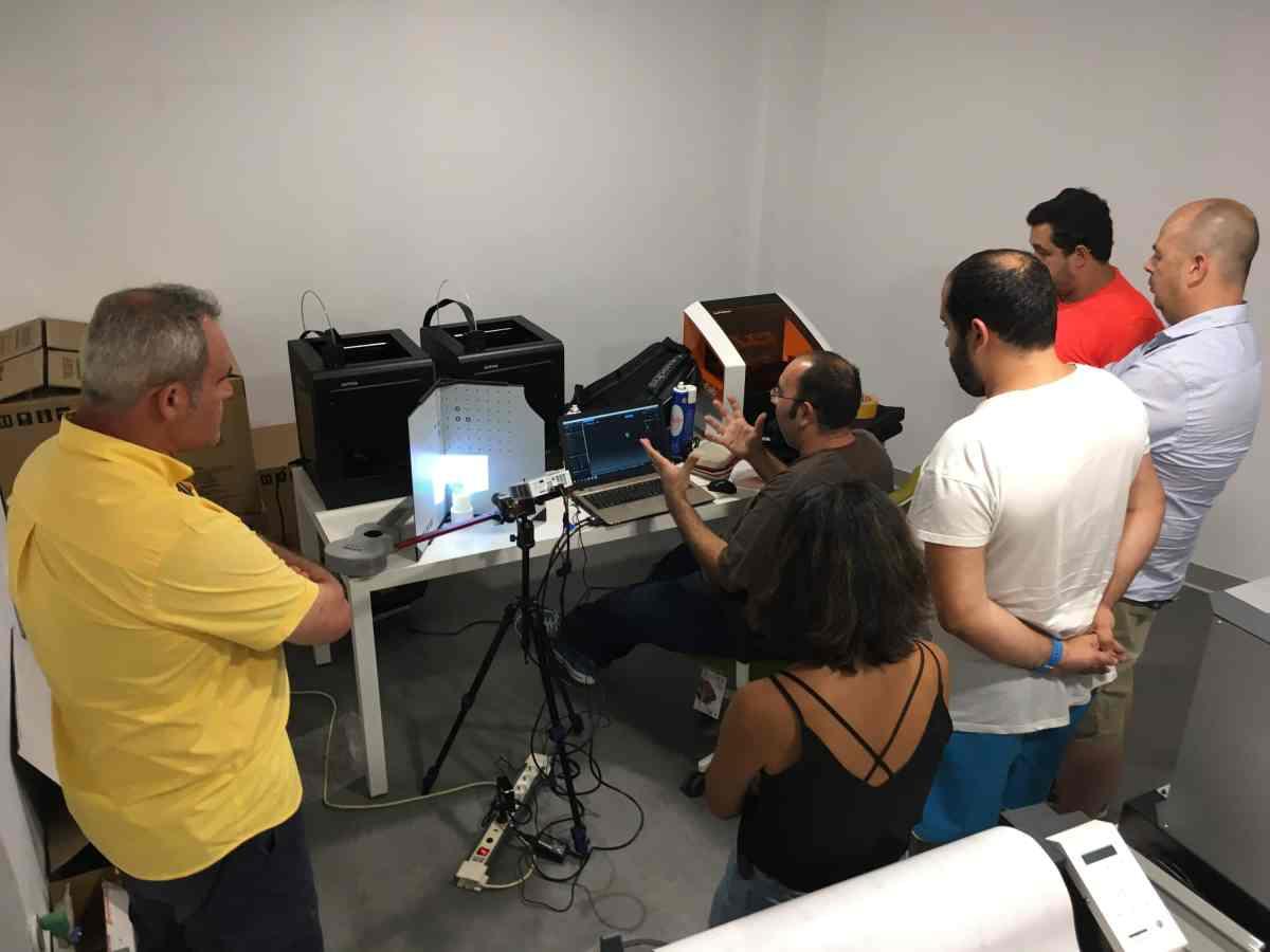 Sesión 7 del curso de Iniciación al diseño para impresión digital en 3D