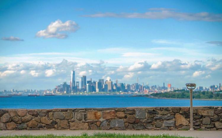 Love this city! Clear day view of from, Staten Island, New York