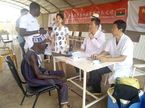 Burkina: des médecins chinois au chevet des malades de Mankoula - Tinganews