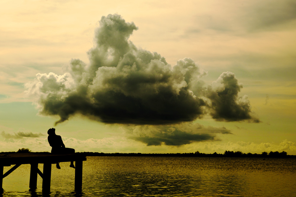 inspiration, utila, honduras, tingari photography, clouds, perspective