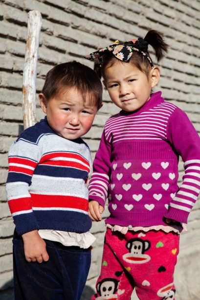 These naughty kazakh kids woke me up every morning with their lovely and loud laughter.