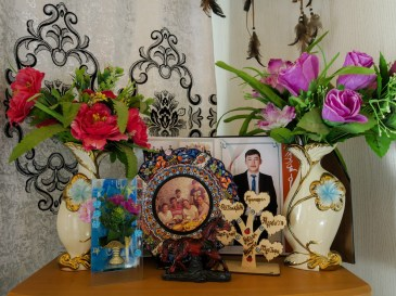 In a Kazakh house