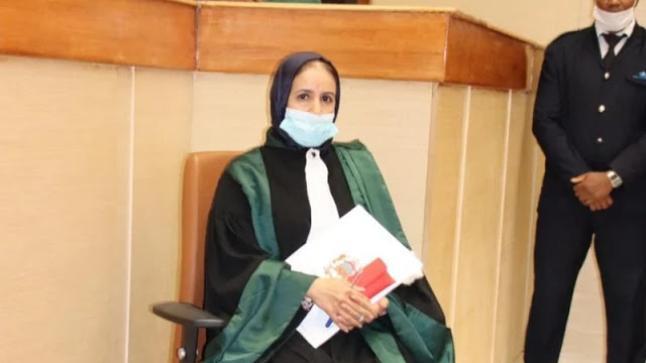 تنصيب الرئيسة الأولى لمحكمة الاستئناف بورزازات