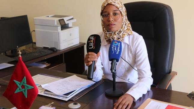 بورتريه : رئيسة جماعة أوفوس الترابية بإقليم الرشيدية