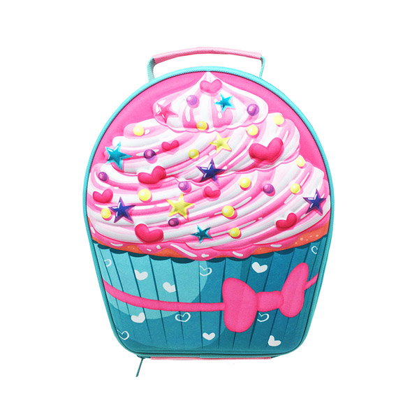 Kølemadkasse til børn - her som cupcake